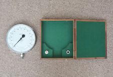 Vintage water pressure gauge old industrial gauge dial boxed - FREE POSTAGE