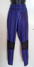 Gym Athletic Leggings Yoga Pantalon Extensible Taille 12 Croc Skin Pattern Missguided