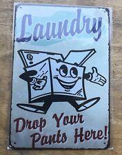 Laundry Tin Sign