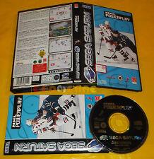 NHL POWERPLAY Sega Saturn  Versione Europea PAL ○○○○○ COMPLETO