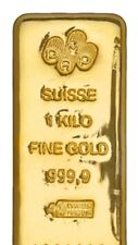 1 Kilo .9999 Gold Bar 32.15 Troy Ounces (IRA Approved)