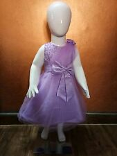 Kids Party Dress Purple Colour 8-9 Yrs