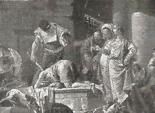 D0146 Giambattista Tiepolo - Decollazione di S. G. Battista_Stampa - 1929 print