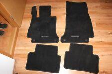 Original Mercedes Benz E Klasse W213 S213 Schwarz Fußmatten Vorne Hinten Set