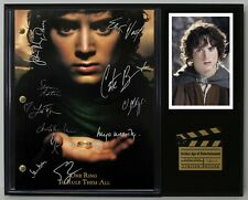 """Lord Of The Rings Reproduction Signature Script Display """"C3"""""""