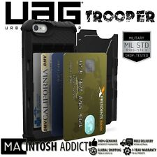 UAG Trooper Card Wallet Case For iPhone 6s Plus/6 Plus BLACK | Miliatry Standard