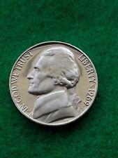 1969 s- Jefferson nickel Uncirculated -proof-**