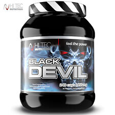 BLACK DEVIL 240 CAPS. Bodybuilding - Testosterone Booster - Lean Muscle Growth