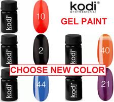 Kodi Professional - LED/UV Gel Paint Color Nail Art 4 ml. for DESIGNE, FRENCH!