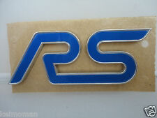 Genuine Ford Focus RS Rear Tailgate / Boot / Wing RS Badge *Ford Main Dealer*
