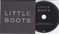 LITTLE BOOTS EVERY NIGHT I SAY A PRAYER RARE 2 TRACK PROMO CD [TENSNAKE REMIX]