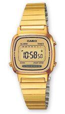 Casio LA-670WEGA-9E Orologio Donna polso Vintage Nuovo Crono Sveglia Calendario