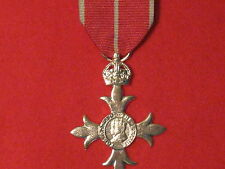 FULL SIZE MBE MILITARY MEDAL MUSEUM COPY MEDAL WITH RIBBON