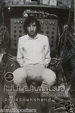 "PETE TOWNSHEND ""LIFEHOUSE ELEMENTS"" U.S. PROMO POSTER - Guitar Legend Of The Who"