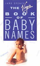 Acceptable, The Virgin Book of Baby Names, Jane Spence, Book