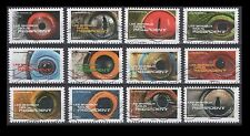 France 4841-4852 Animal eyes (12 USED Stamps)