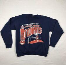Vintage 1995 League Leader Cleveland Indians American League  Sweatshirt Large