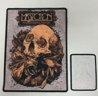 LARGE * MASTODON * sew on patch.band,back,merch,wizard,fire,kyuss,stoner,clutch