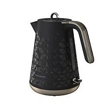 Morphy Richards 108251 Prism Jug Kettle - Black NEW