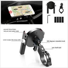 Bicycle Motorcycle ATV Aluminium Alloy Adjustable Phone GPS Mount Holder Bracket