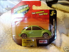 MAISTO ADVENTURE WHEELS SERIES   Volkswagon New Beetle  (Green) Short Card  VHTF