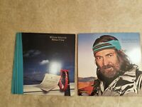 Lot Of 2 Willie Nelson Vinyl Records  Without A Song and Always on My Mind