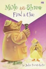Mole and Shrew Find a Clue (A Stepping Stone Book(Tm)-ExLibrary