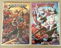 Spider-Verse 1 - Walmart & Brown Variants 1st Spider-Zero MEXICAN EDITIONS - NM-