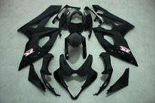 ABS Fairing Fits For Suzuki GSXR1000 2005-2006 Gloss black color injection