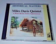 Miles Davis Quintet CD RARO LOCAL apariencia (1991 JAZZ VIEW ) Importación JAZZ