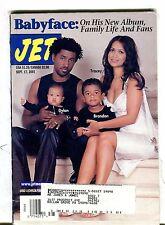 Jet Magazine September 17 2001 Babyface 071117nonjhe