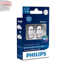 2 x Philips X-tremeUltinon T10-Innenleuchten W5W 6000K kaltweiß 127996000KX2