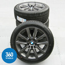 "GENUINE BMW 5 6 SERIES 18"" 328 ALLOY WHEELS NEW WINTER HANKOOK TYRES 36116790173"