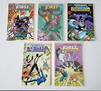 First Adventures 1 2 3 4 5 First Comics 1985 Set Series Run Lot 1-5 VF/NM