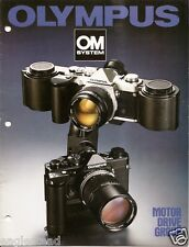 Camera Brochure - Olympus OM System Motor Drive Group - Grip Controls (CB135)