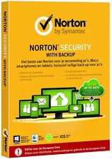 Symantec Norton Security 2015 Premium Software with Backup for 10-Devices, 1Year