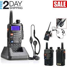 Police Fire Radio Scanner Handheld Transceiver Portable Antenna Dual Band Radio