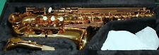 SAXOPHONE ALTO Mib/Fa# NEW ORLEANS® LAQUER OR + BEC + 10 REEDS DVD ACCESSOIRES