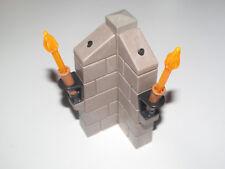 Playmobil Accessoire Mur Angle Lumière Flambeau Fonctionna à Pilles NEW