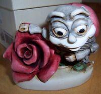 Harmony Kingdom~Byron's Lonely Hearts Club~Ladybug Figurine~1999 Club Piece MIOB