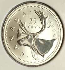 1999 CANADA 25¢ CENT SPECIMEN COIN - FROM A SET