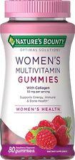 WOMEN'S MULTIVITAMIN Vitamin D & C & A & B, Zinc & Biotin, 80 Gummies
