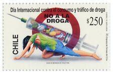 Chile 1996 #1822 Dia Internacional Contra el Consumo y Trafico de Droga MNH
