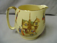 "Royal Winton Grimwades Old English Market Pitcher 4"" Tall 3"" Across Top Vintage"