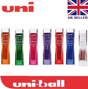Uni Nano Dia COLOR Blended Pencil Lead Refill 0.5mm 202NDC Pencil MIX 8 COLOUR