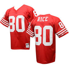 0f9b03412 SAN FRANCISCO 49ERS Jerry Rice Sz XXL Mitchell   Ness THROWBACK Jersey