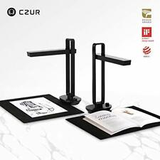 CZUR Aura X Pro Book/Document Foldable Rechargeable Battery Smart Scanner W/ OCR