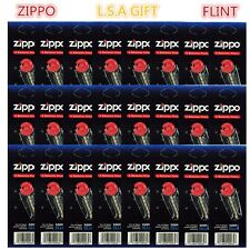 New Zippo Lighter Replacement Flint Genuine Pack of 24 Value Packs(144X Flints)