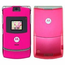 Epic Original Motorola Razr V3 Pink 100% Unlocked Phone 2G Warranty Collection v