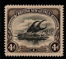 PAPUA SG5 1901 4d BLACK & SEPIA UNUSED